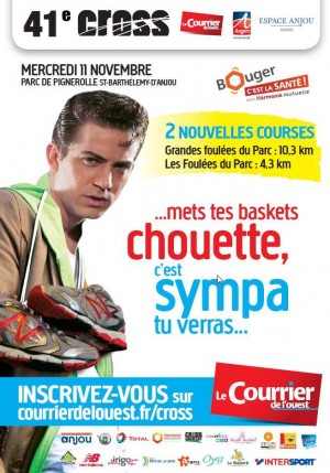 Affiche crosse Courrier de l'Ouest 2015